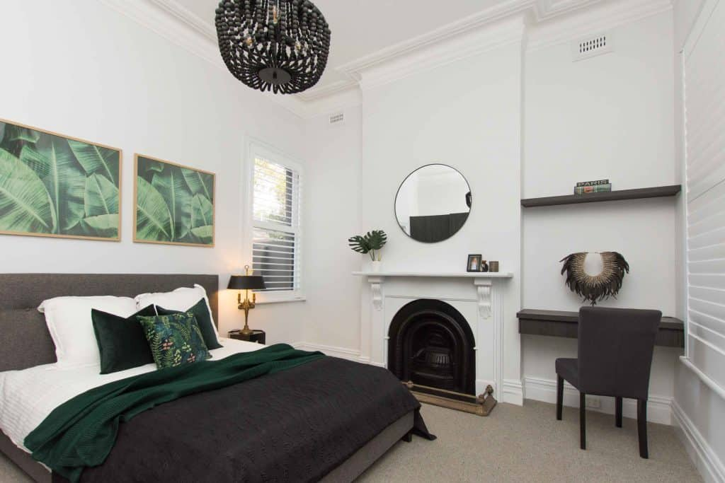 Norman Plantation Shutters in renovated Prahran Edwardian Home