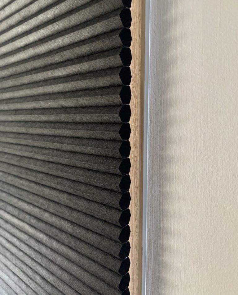 Energy efficient hoem design is only improved when using cellular honeycomb blinds which trap the air